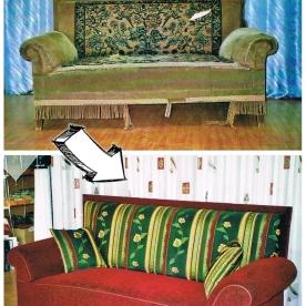 Omas altes Sofa