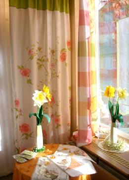 Frühlingskollektion in unserem Schaufenster (Quelle: Privat)