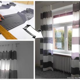 Semitransparente Vorhäng