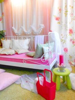 Liebevoll eingerichteter Wohnraum (Quelle: Privat)