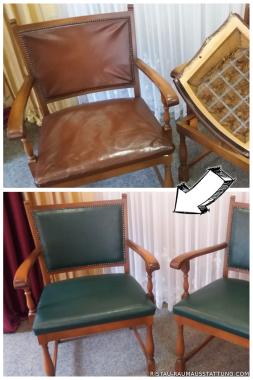 Stühle -Neu bezogen (Quelle: Privat)
